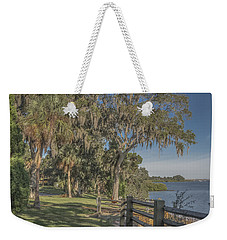 Weekender Tote Bag featuring the photograph The Park by Jane Luxton