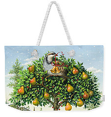 The Partridge In A Pear Tree Weekender Tote Bag