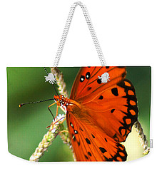 The Passion Butterfly Weekender Tote Bag
