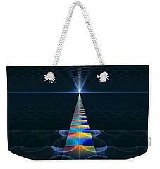 Weekender Tote Bag featuring the digital art The Path Ahead by GJ Blackman