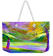Misty Mountains, Fall Color And Aspens Weekender Tote Bag