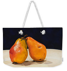 The Pearfect Pair Weekender Tote Bag by Dee Dee  Whittle