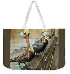 The Pelican Gang Weekender Tote Bag