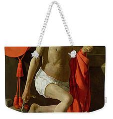 The Penitent St Jerome  Weekender Tote Bag by Georges de la Tour