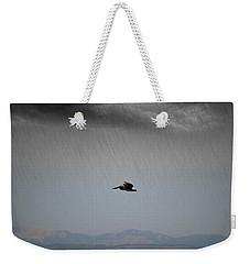 The Persevering Pelican Weekender Tote Bag