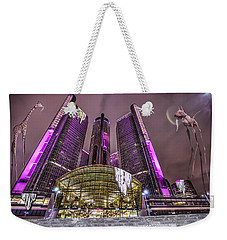 Weekender Tote Bag featuring the photograph The Persistence Of Time by Nicholas  Grunas