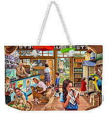 The Pet Shop Weekender Tote Bag by Steve Crisp