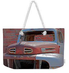 Weekender Tote Bag featuring the photograph The Pick Up by Lynn Sprowl