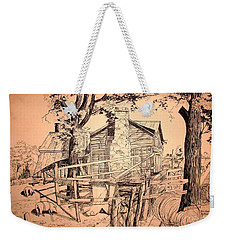 The Pig Sty Weekender Tote Bag