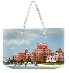 The Pink Palace Weekender Tote Bag by Valerie Reeves