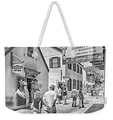 Weekender Tote Bag featuring the photograph The Pink Petunia by Howard Salmon
