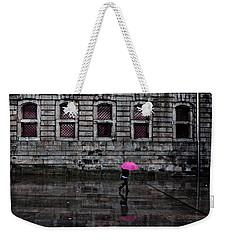 The Pink Umbrella Weekender Tote Bag