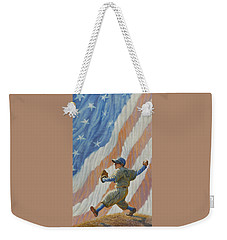The Pitcher Weekender Tote Bag