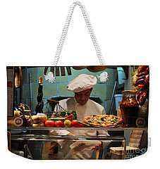 The Pizza Maker Weekender Tote Bag