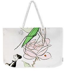 The Poets Corner Weekender Tote Bag by Sem