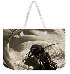 The Pollinator Weekender Tote Bag by Chris Berry