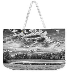 Weekender Tote Bag featuring the photograph The Pond by Howard Salmon