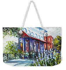 The Popcorn Shop In Chagrin Falls Oh Weekender Tote Bag