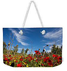 The Poppies Field Weekender Tote Bag