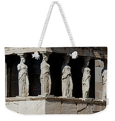 The Porch Of Maidens Weekender Tote Bag