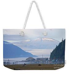 The Port Of Stewart Weekender Tote Bag