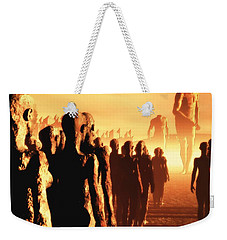 The Post Apocalyptic Gods Weekender Tote Bag by John Alexander