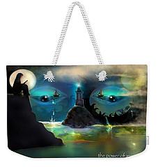 The Power Of Imagination Weekender Tote Bag