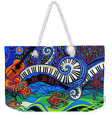 The Power Of Music Weekender Tote Bag by Genevieve Esson