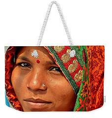 The Pride Of Indian Womenhood Weekender Tote Bag