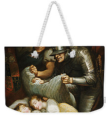 The Princes In The Tower Oil On Canvas Weekender Tote Bag by James Northcote