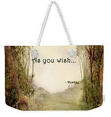 The Princess Bride - As You Wish Weekender Tote Bag