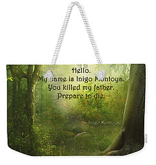 The Princess Bride - Hello Weekender Tote Bag