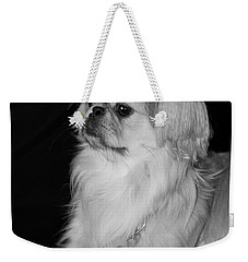 Weekender Tote Bag featuring the photograph The Princess by Kristi Swift