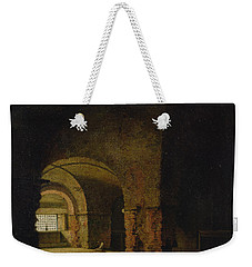 The Prisoner, C.1787-90 Oil On Canvas Weekender Tote Bag by Joseph Wright of Derby