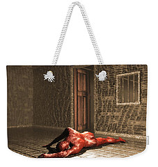 The Prisoner Weekender Tote Bag by John Alexander