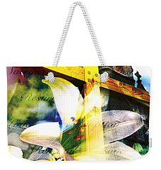 Weekender Tote Bag featuring the photograph The Promise by Eleanor Abramson