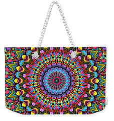 The Psychedelic Days Weekender Tote Bag by Lyle Hatch