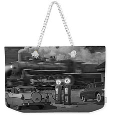 The Pumps - Panoramic Weekender Tote Bag by Mike McGlothlen