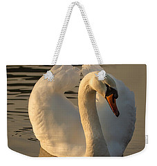 Weekender Tote Bag featuring the photograph The Pure In Heart by Rose-Maries Pictures
