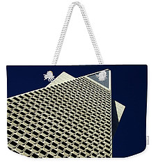 The Pyramid Weekender Tote Bag by Bill Gallagher