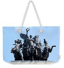 The Quadriga Weekender Tote Bag