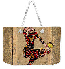 The Queen Of Hearts Weekender Tote Bag