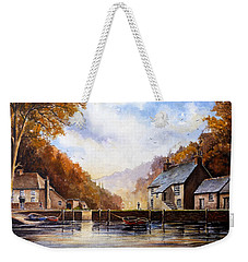 The Quiet Life Pont Cornwall Weekender Tote Bag