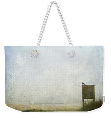 The Raven And The Beach Weekender Tote Bag