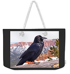 The Raven Weekender Tote Bag by Rona Black