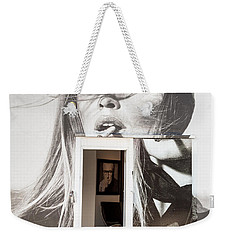 The Art Gallery Within Bridgitte Weekender Tote Bag