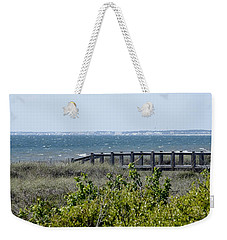 Weekender Tote Bag featuring the photograph The Real Gulf Coast by Debra Forand