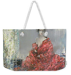The Red Kimono Weekender Tote Bag
