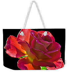 The Red One Weekender Tote Bag by Robert Bales