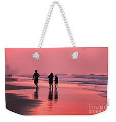 The Red Pail Weekender Tote Bag